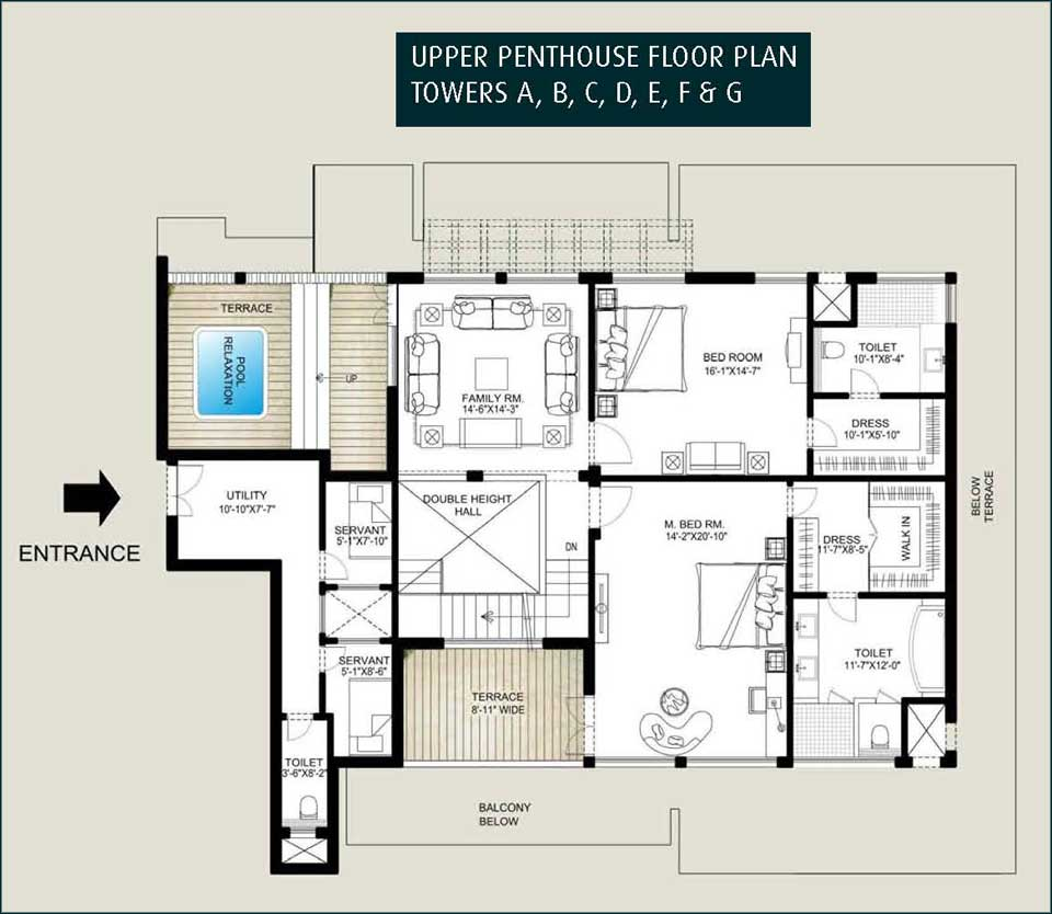 Temple - Lay outs penthouse ...